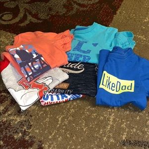 Bundle of play shirts size 4T